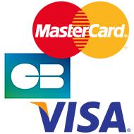 paiements CB, Visa, MasterCard